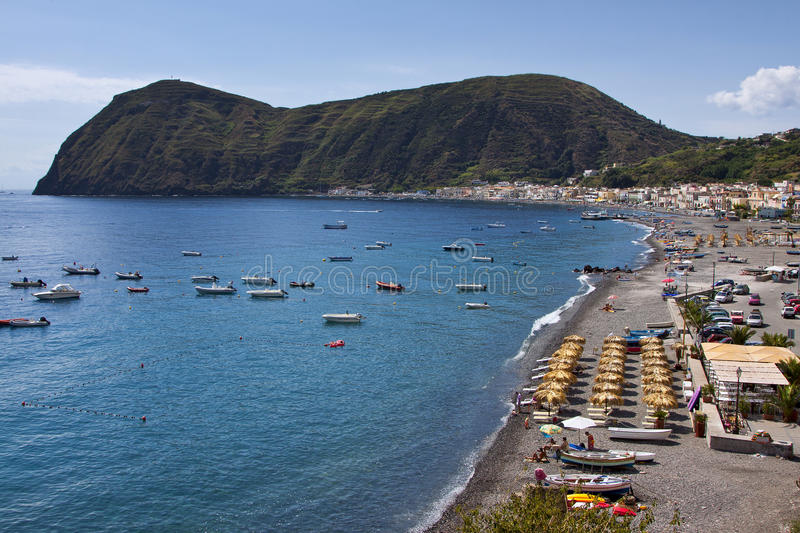 Lipari Island royalty free stock photography