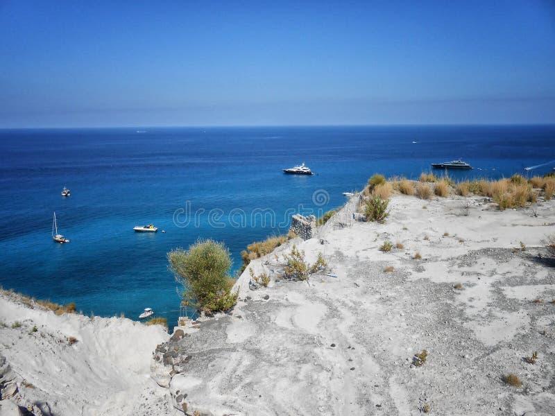 Lipari wyspa, Sicily, Włochy obrazy stock