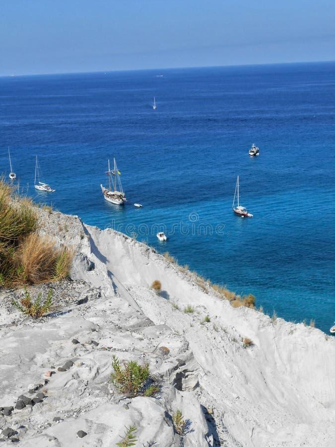 Lipari wyspa, Sicily, Włochy obraz royalty free