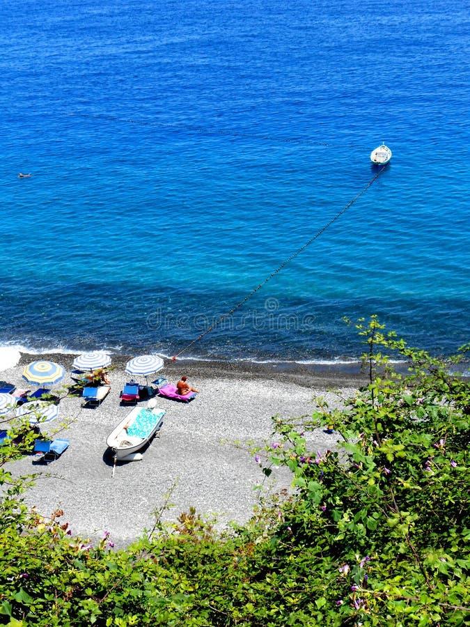 Lipari wyspa, Sicily, Włochy fotografia stock