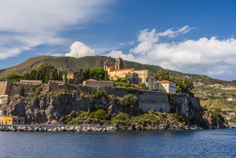 Lipari wyspa w Włochy zdjęcie stock