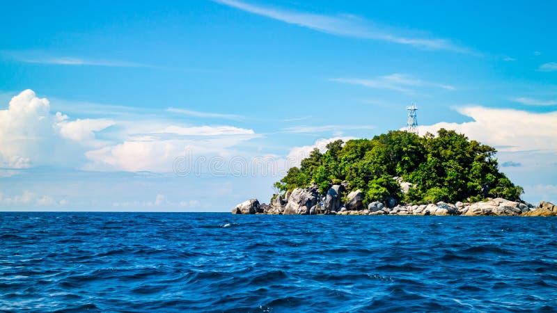 Lipe海岛,酸值Lipe,沙敦府泰国 免版税库存图片