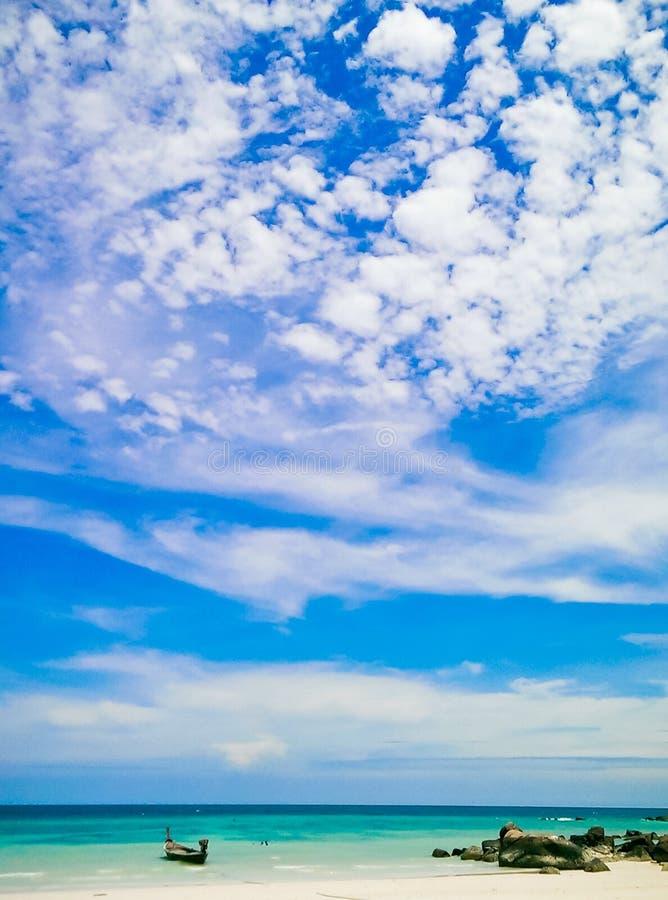 Lipe海岛Satun泰国 库存图片