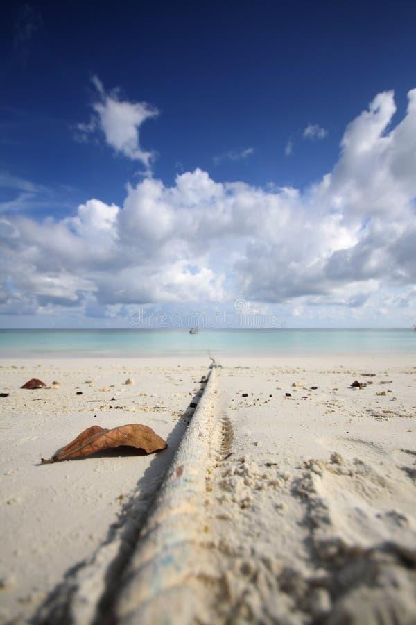 Lipe de KOH Maldive en Thaïlande photos libres de droits