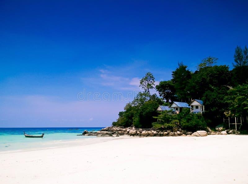 Lipe Island, Satun, Thailand. Lipe island is most famous in Satun Thailand royalty free stock photography