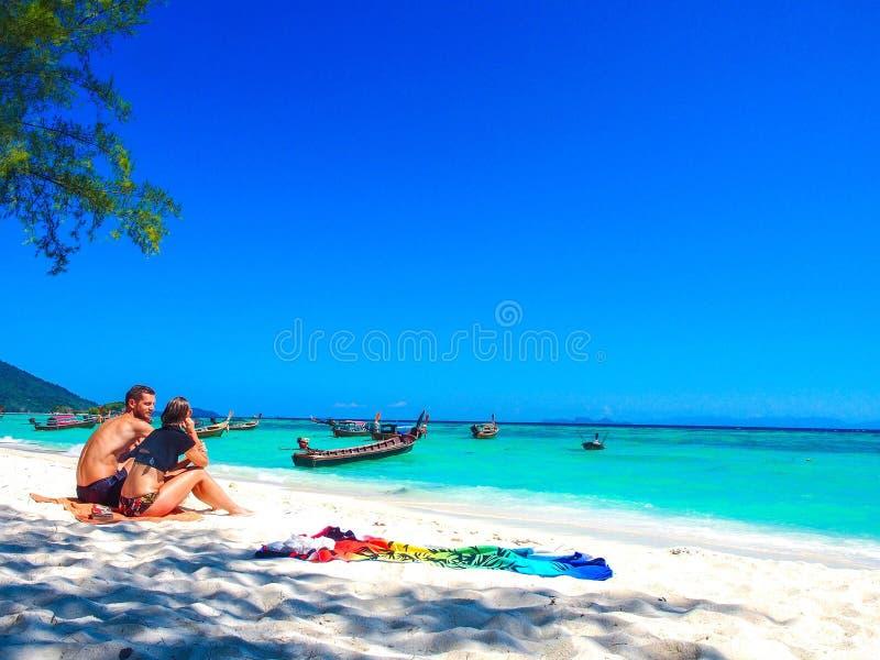 Lipe Thaïlande photo stock
