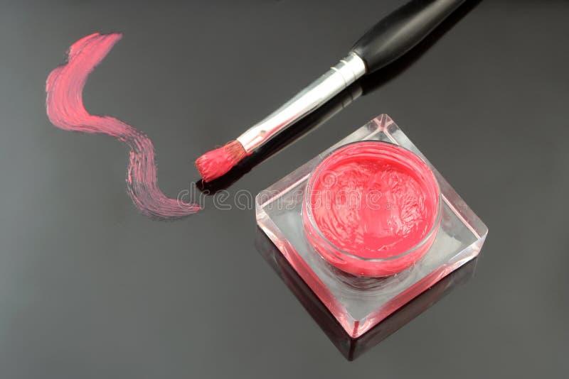 Lipgloss royalty-vrije stock fotografie
