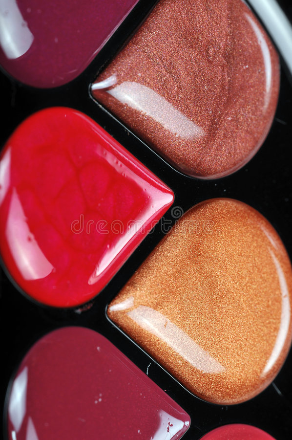 Lipgloss stock foto's