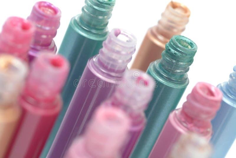 Lipglossen stock foto's