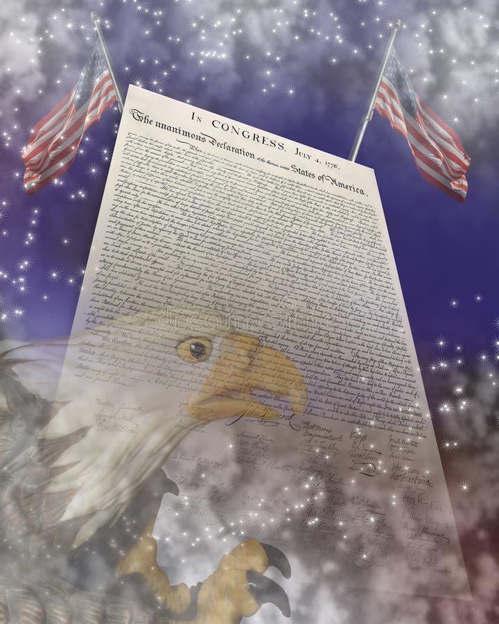 lipiec tła dzień niezależność Lipiec ilustracji