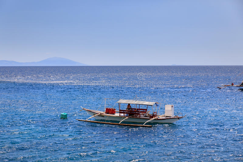 Lipo Island - Diving, snorkeling point in Anilao. Batangas, Philippines stock photo