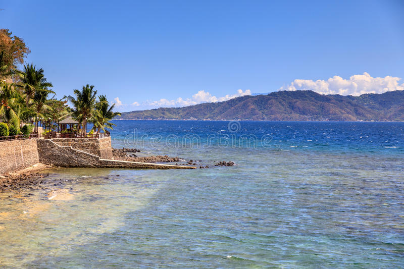 Lipo Island - Diving, snorkeling point in Anilao. Batangas, Philippines royalty free stock photo
