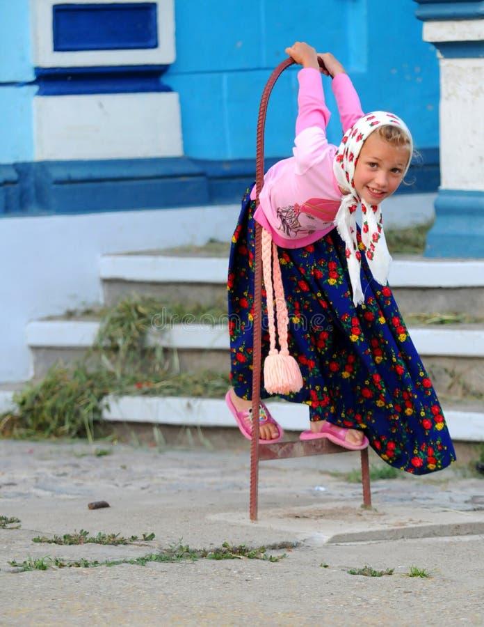 Download Lipovan girl editorial stock image. Image of sarichioi - 11585334