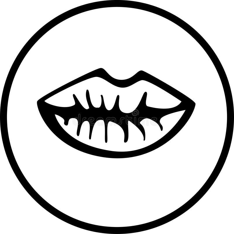 Lippen stock illustratie