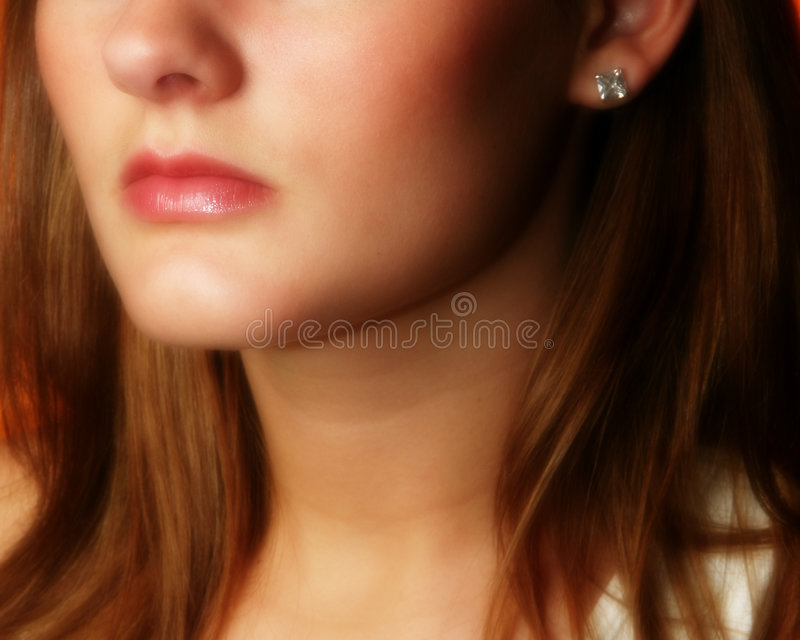 Lippen lizenzfreie stockfotografie