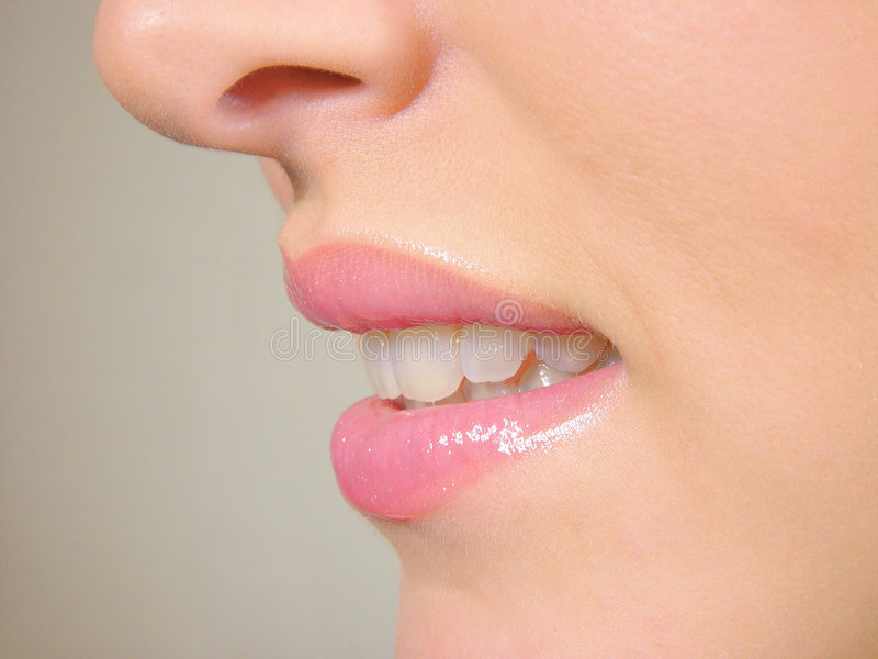 Lippen stockfotografie