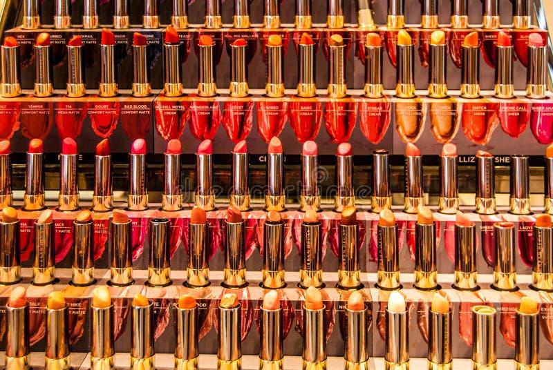Lippenstift-Manie stockfotografie