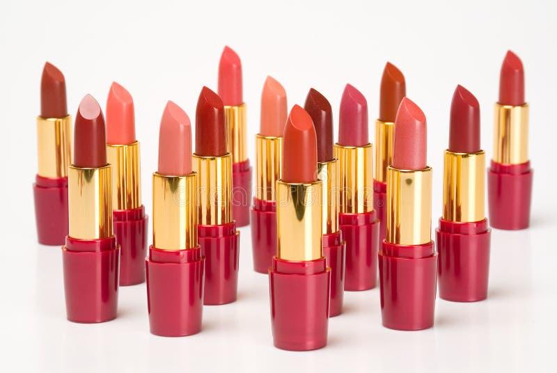 Lippenstiften royalty-vrije stock afbeelding
