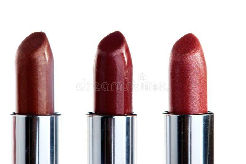Lippenstiften stock afbeelding