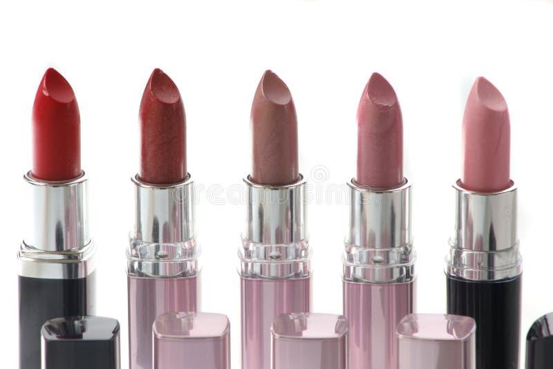 Lippenstiften stock foto