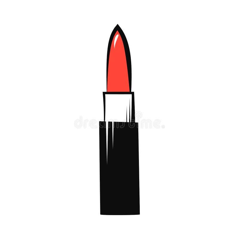 Lippenstiftvector vector illustratie