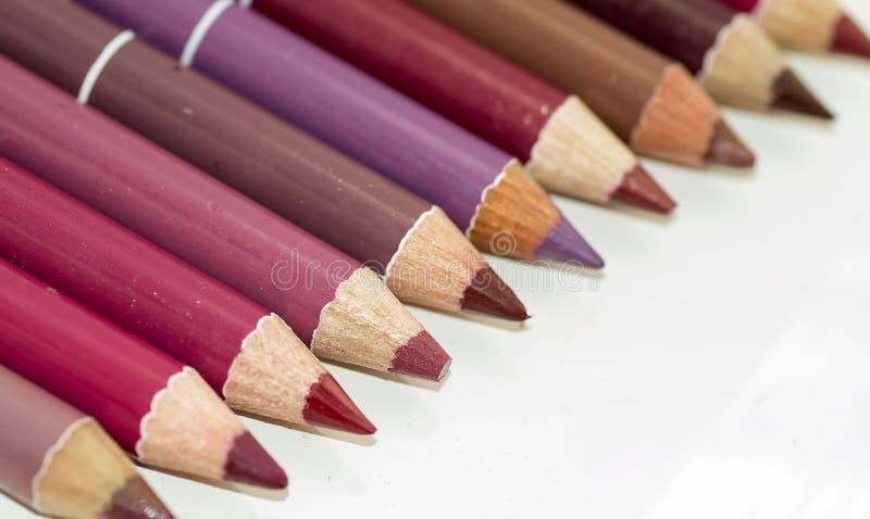 Lippenzwischenlagen lizenzfreie stockfotos
