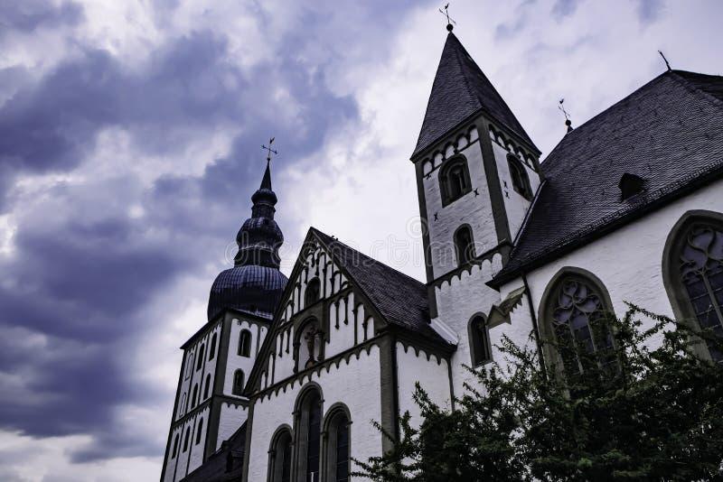 Lippstädter Marienkirche ou igreja de Maria em Lippstadt, Alemanha fotografia de stock royalty free