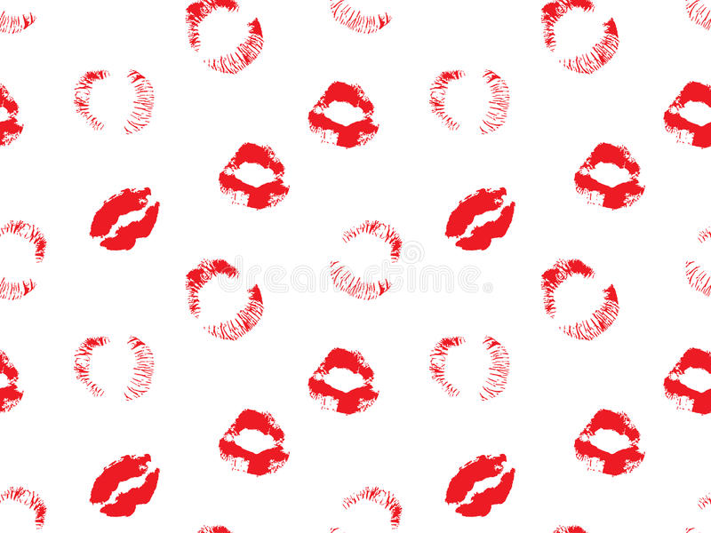 The lips royalty free illustration