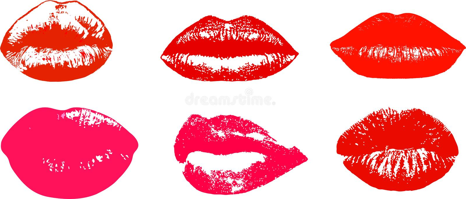 Download Lips stock vector. Image of freshness, doting, amor, clasp - 26577044