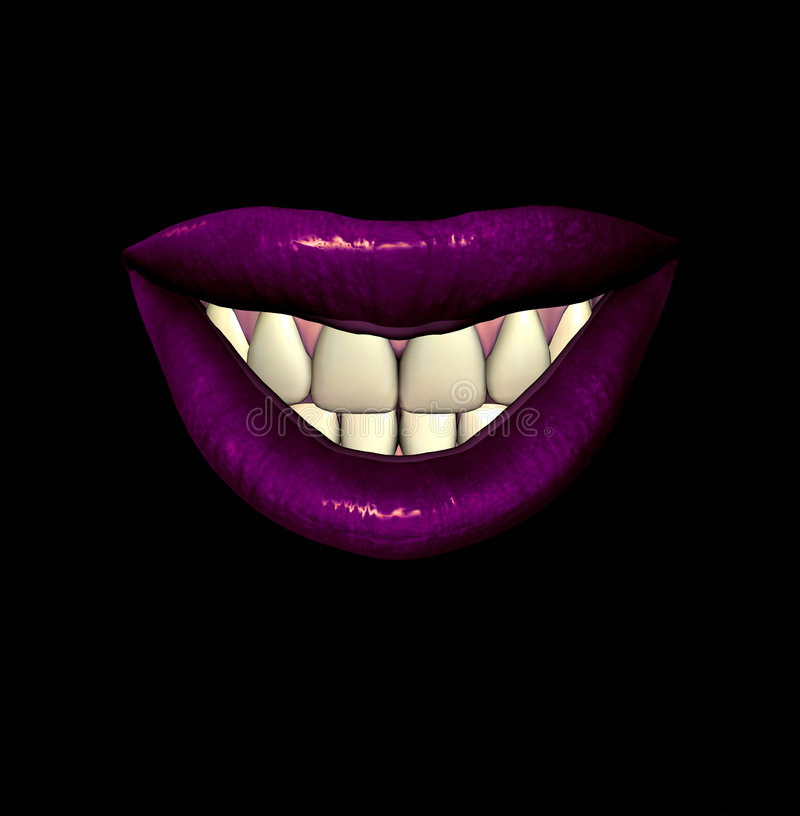 Download Lips 5 stock illustration. Image of cosmetic, valentine - 1023153