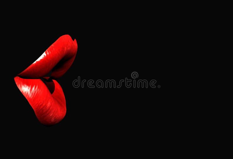 Download Lips 6 stock illustration. Image of full, seductive, affair - 608040
