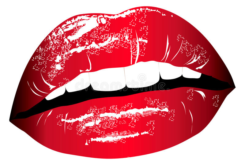 Download Lips stock vector. Image of object, clothes, beauty, banner - 9563175