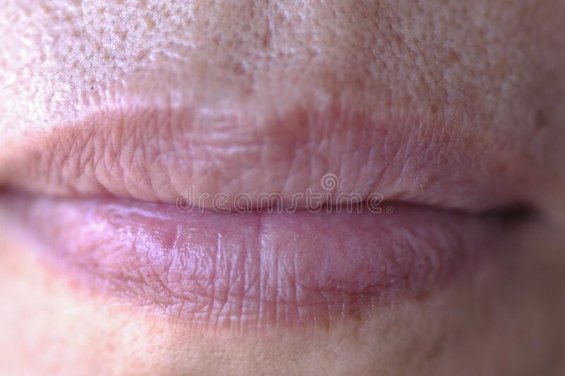 Lips Closeup With Only Touch Of Lipstick Free Public Domain Cc0 Image