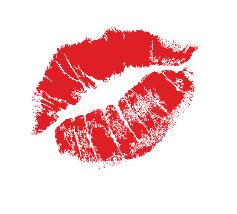 Download Lips Mark Royalty Free Stock Images - Image: 12033899