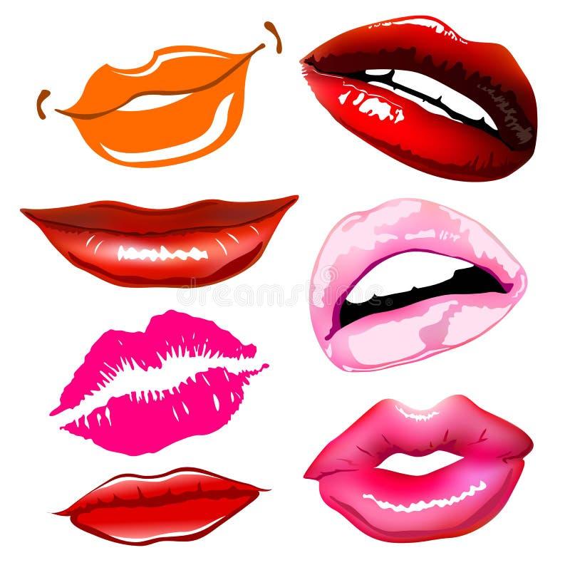 Lips sex pink vector icon women vector illustration