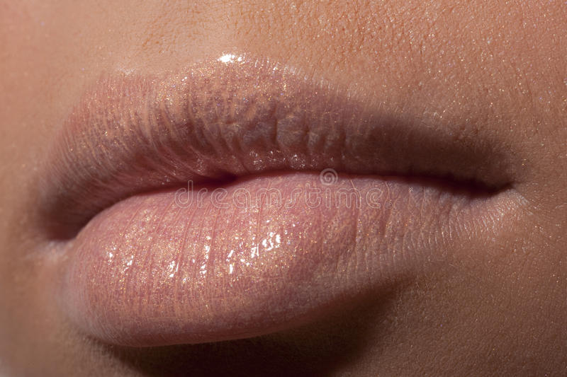 Download Lips of the young girl stock photo. Image of temptation - 11013764