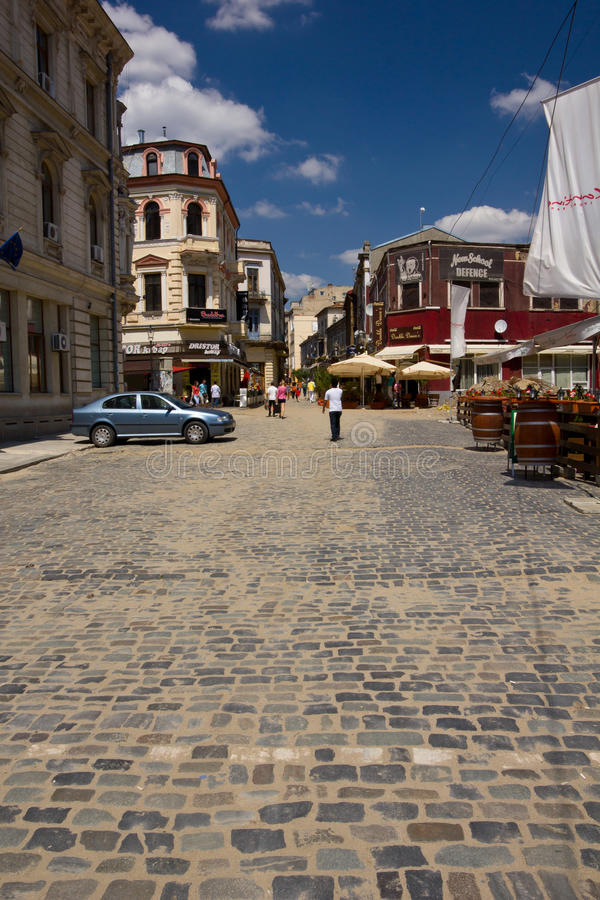Download Lipscani - Bucharest editorial photography. Image of bucuresti - 22279167
