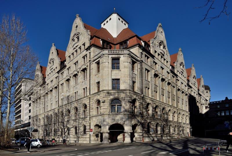 Lipsia Altstadt immagini stock libere da diritti