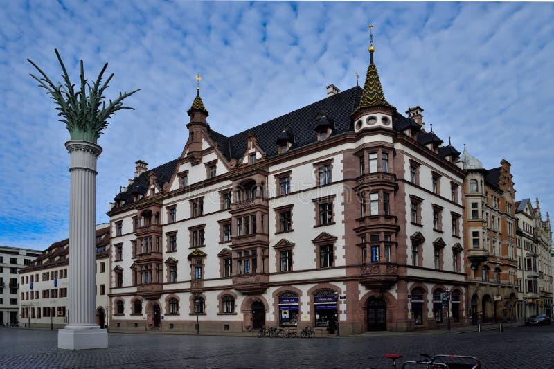 Lipsia Altstadt fotografie stock libere da diritti