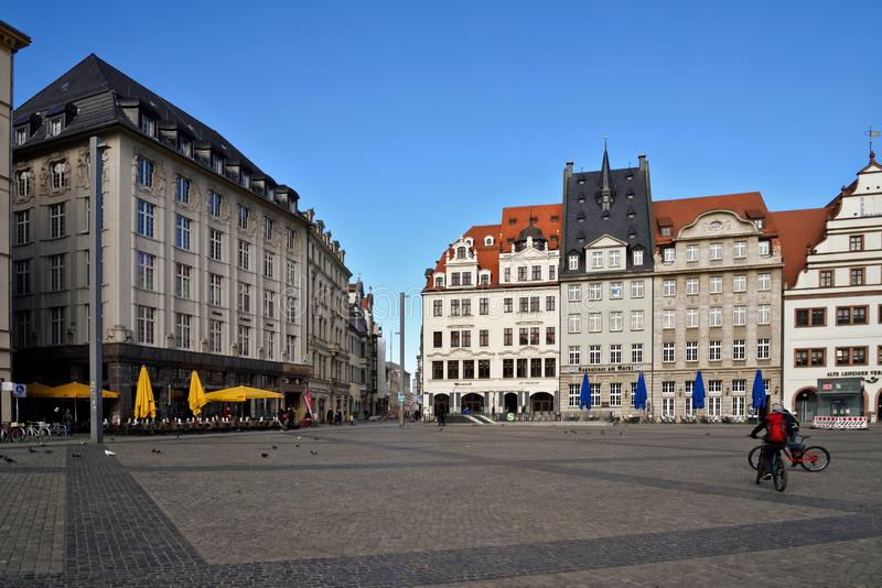 Lipsia Altstadt fotografia stock