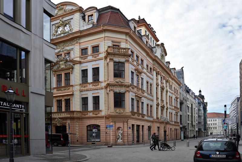 Lipsia Altstadt fotografia stock libera da diritti