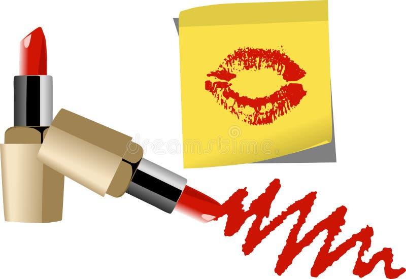 Download Lipstick stock vector. Image of vector, drawing, danger - 27141233
