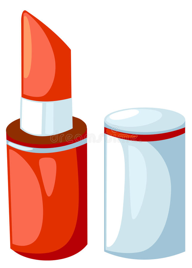 Lipstick royalty free illustration