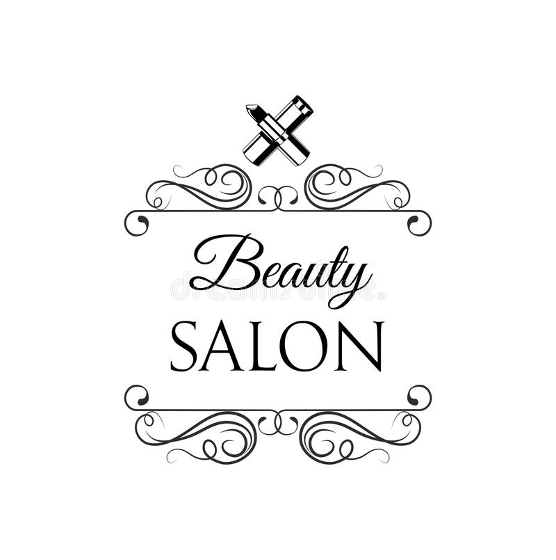 Lipstick Beauty Salon Design Elements In Vintage Style