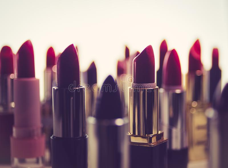 Lipstick Cityscape stock photos