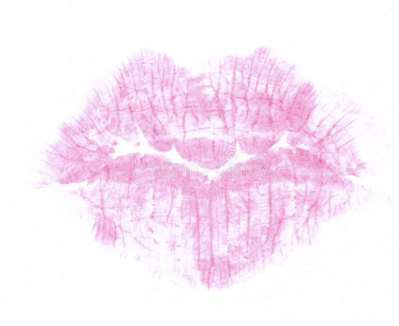 Download Lipstick Kiss Royalty Free Stock Images - Image: 12825269