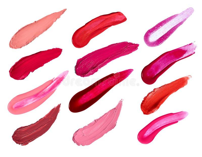 Lipstick nail polish beauty make up cosmetics stock photography
