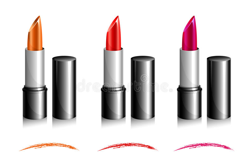 Download Lipstick Shades stock vector. Image of background, glitter - 22082670