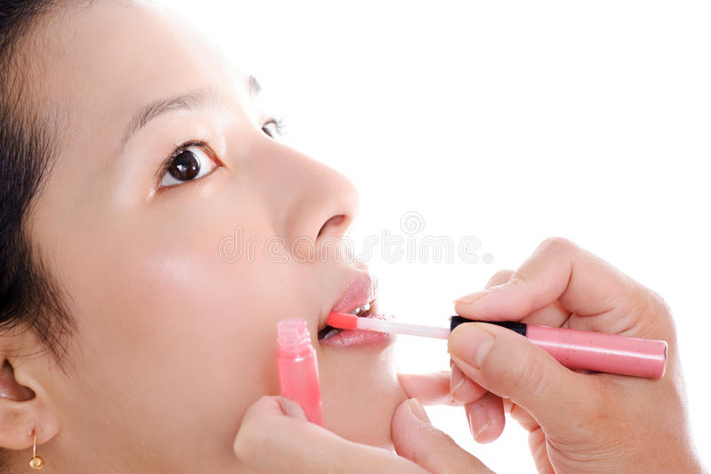 Lipstick royalty free stock image