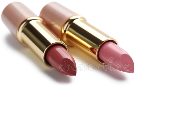 lipsticks photographie stock libre de droits